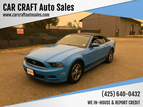 2014 Ford Mustang for sale at Car Craft Auto Sales Inc in Lynnwood WA