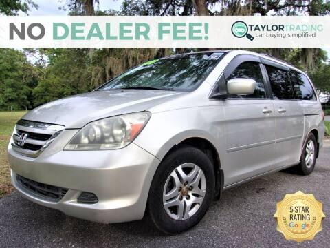 2007 Honda Odyssey for sale at Taylor Trading in Orange Park FL