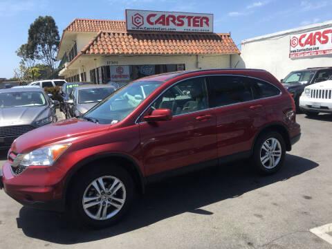 2010 Honda CR-V for sale at CARSTER in Huntington Beach CA