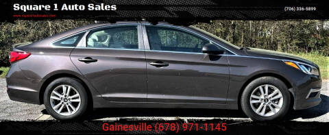 2015 Hyundai Sonata for sale at Square 1 Auto Sales - Commerce in Commerce GA