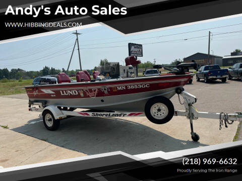 1993 Lund Pro -V DLX for sale at Andy's Auto Sales in Hibbing MN