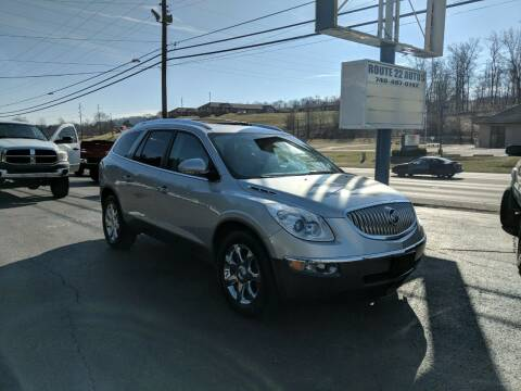 2008 Buick Enclave for sale at Route 22 Autos in Zanesville OH