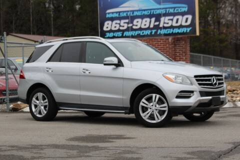 2013 Mercedes-Benz M-Class for sale at Skyline Motors in Louisville TN