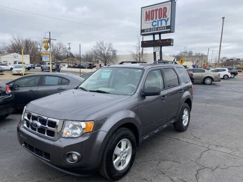 2012 Ford Escape for sale at Motor City Sales in Wichita KS