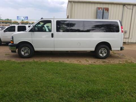 2017 Chevrolet Express Passenger for sale at Frontline Auto Sales in Martin TN