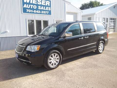 2012 Chrysler Town and Country for sale at Wieser Auto INC in Wahpeton ND