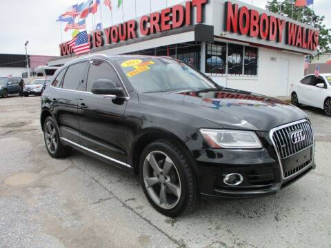 2013 Audi Q5 for sale at Giant Auto Mart 2 in Houston TX