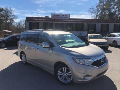 2012 Nissan Quest for sale at Unicar Enterprise in Lexington SC