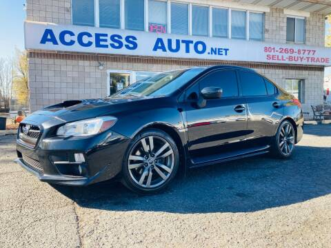 2017 Subaru WRX for sale at Access Auto in Salt Lake City UT