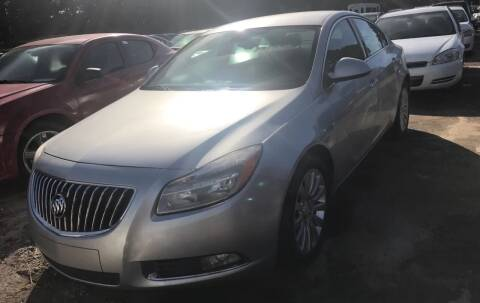 2011 Buick Regal for sale at EADS AUTO SALES in Arlington TN