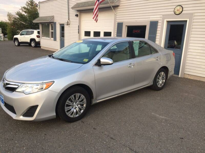 2014 Toyota Camry for sale at CLARKS AUTO SALES INC in Houlton ME
