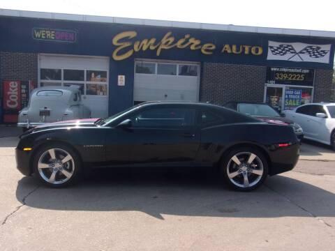2013 Chevrolet Camaro for sale at Empire Auto Sales in Sioux Falls SD