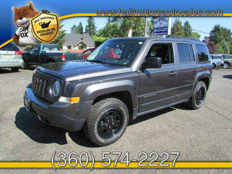 2016 Jeep Patriot for sale at Hall Motors LLC in Vancouver WA