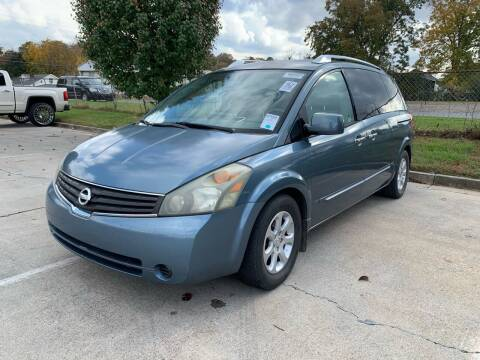 2008 Nissan Quest for sale at Diana Rico LLC in Dalton GA