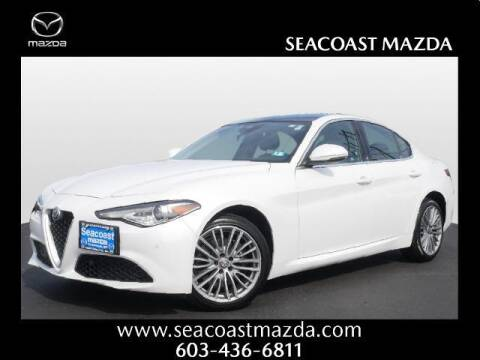 2018 Alfa Romeo Giulia for sale at The Yes Guys in Portsmouth NH