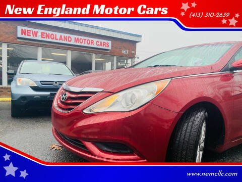 2011 Hyundai Sonata for sale at New England Motor Cars in Springfield MA
