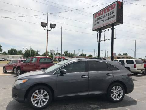 2014 Toyota Venza for sale at United Auto Sales in Oklahoma City OK
