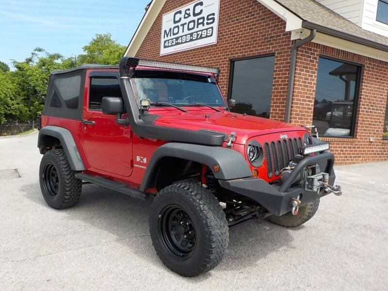 2007 Jeep Wrangler for sale at C & C MOTORS in Chattanooga TN