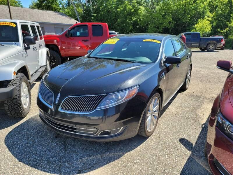 2014 Lincoln MKS for sale at Clare Auto Sales, Inc. in Clare MI