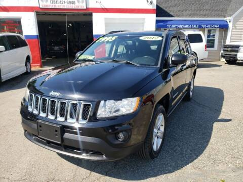 2012 Jeep Compass for sale at TC Auto Repair and Sales Inc in Abington MA