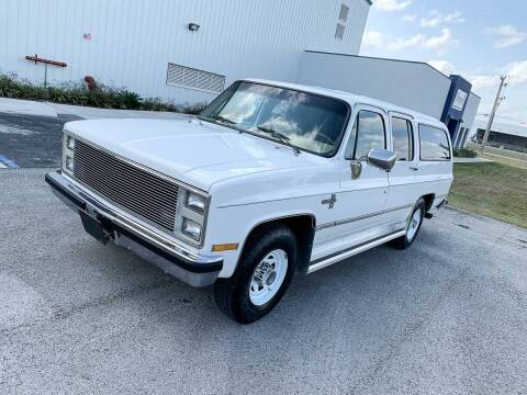 1987 Chevrolet Suburban for sale at TOP TWO USA INC in Oakland Park FL