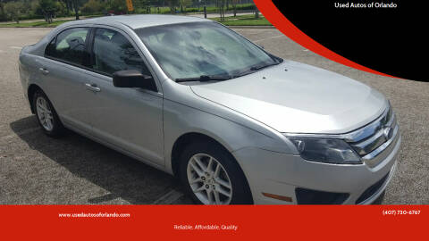 2010 Ford Fusion for sale at Used Autos of Orlando in Orlando FL