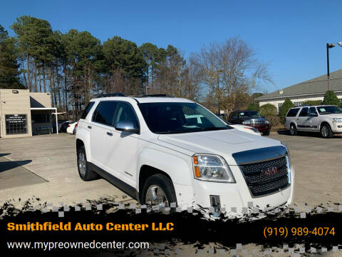 2015 GMC Terrain for sale at Smithfield Auto Center LLC in Smithfield NC