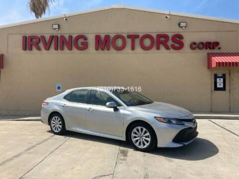 2018 Toyota Camry for sale at Irving Motors Corp in San Antonio TX
