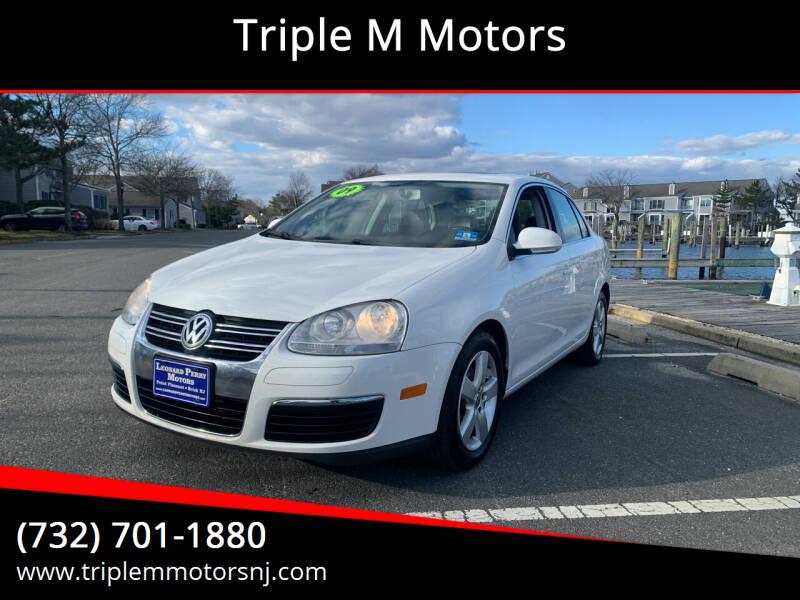 2009 Volkswagen Jetta for sale at Triple M Motors in Point Pleasant NJ