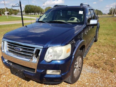 2007 Ford Explorer Sport Trac for sale at Scarletts Cars in Camden TN
