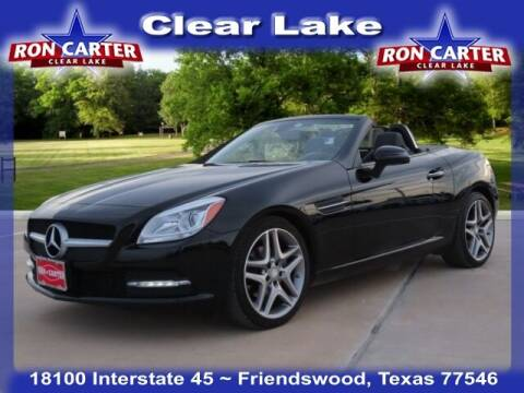 2015 Mercedes-Benz SLK for sale at Ron Carter  Clear Lake Used Cars in Houston TX