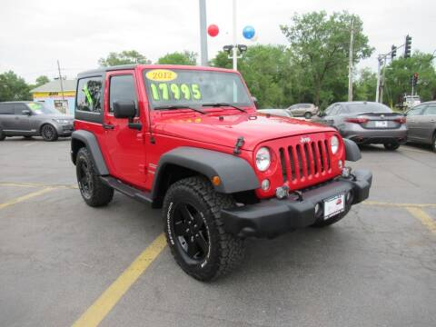 2012 Jeep Wrangler for sale at Auto Land Inc in Crest Hill IL