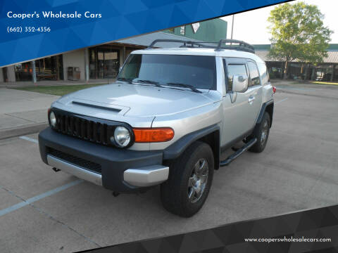 2007 Toyota FJ Cruiser for sale at Cooper's Wholesale Cars in West Point MS