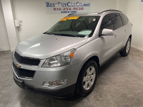 2012 Chevrolet Traverse for sale at Best Buy Car Co in Independence MO