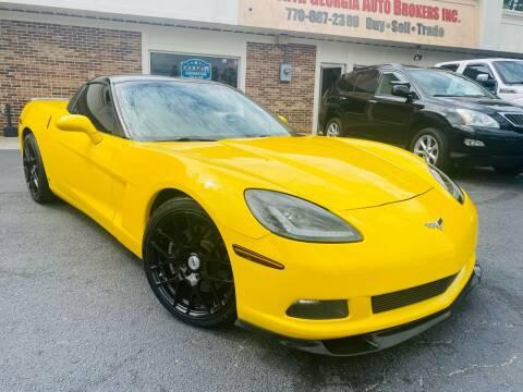 2007 Chevrolet Corvette for sale at North Georgia Auto Brokers in Snellville GA