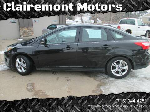 2014 Ford Focus for sale at Clairemont Motors in Eau Claire WI