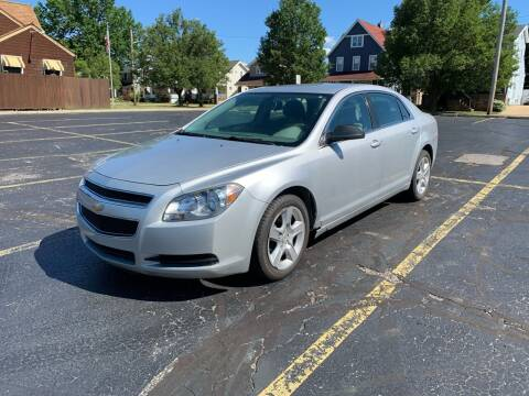 2012 Chevrolet Malibu for sale at USA AUTO WHOLESALE LLC in Cleveland OH