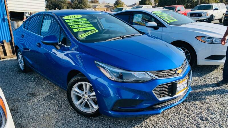 2017 Chevrolet Cruze for sale at La Playita Auto Sales Tulare in Tulare CA