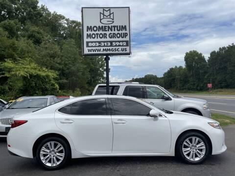 2014 Lexus ES 350 for sale at Momentum Motor Group in Lancaster SC