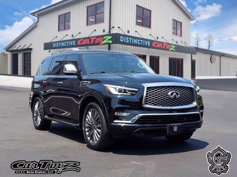 2019 Infiniti QX80 for sale at Distinctive Car Toyz in Pleasantville NJ