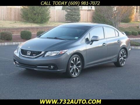 2013 Honda Civic for sale at Absolute Auto Solutions in Hamilton NJ