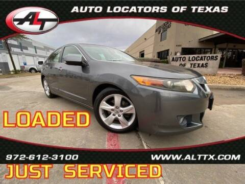 2009 Acura TSX for sale at AUTO LOCATORS OF TEXAS in Plano TX
