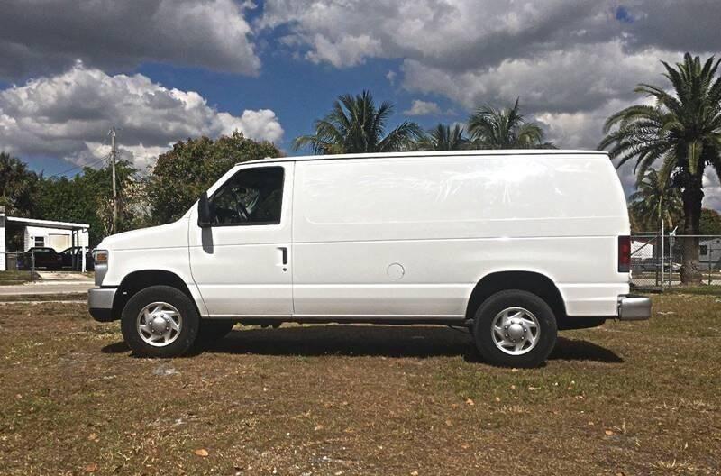 2008 Ford E-Series Cargo CARGO VAN - Fort Lauderdale FL