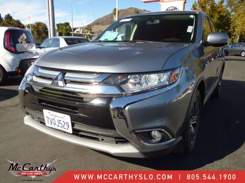 2016 Mitsubishi Outlander for sale at McCarthy Wholesale in San Luis Obispo CA