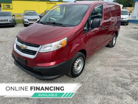 2015 Chevrolet City Express Cargo for sale at Go Smart Car Sales LLC in Winter Garden FL