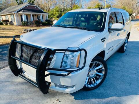 2010 Cadillac Escalade ESV for sale at Cobb Luxury Cars in Marietta GA