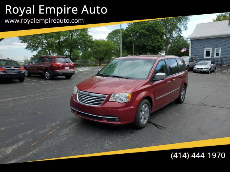 2014 Chrysler Town and Country for sale at Royal Empire Auto in Milwaukee WI