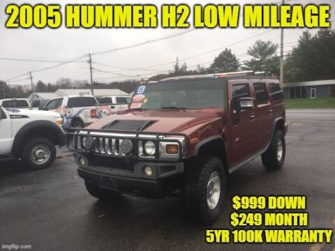 2005 HUMMER H2 for sale at D&D Auto Sales, LLC in Rowley MA
