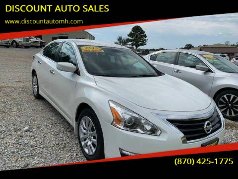 2015 Nissan Altima for sale at DISCOUNT AUTO SALES in Mountain Home AR