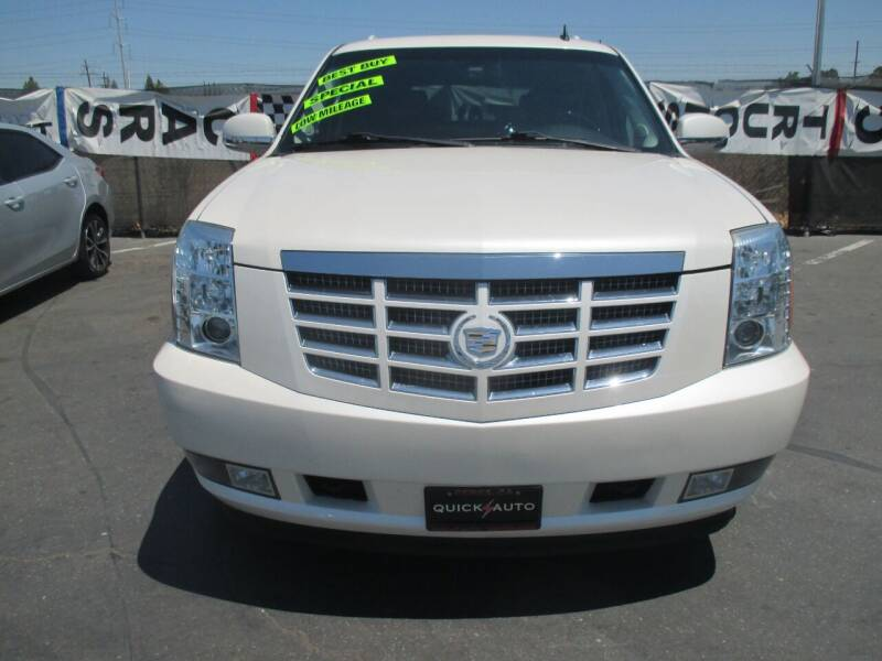 2010 Cadillac Escalade for sale at Quick Auto Sales in Modesto CA
